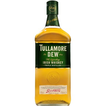 TULLAMORE DEW, IRISH WHISKEY