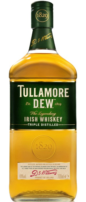 Whiskey Tullamore Dew, Irish