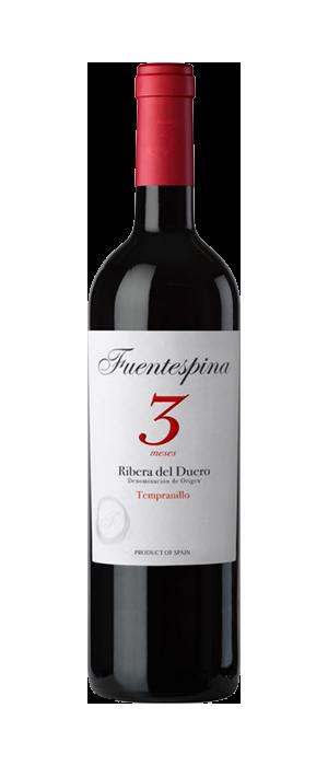 Vino Tinto Fuentespina 3 Meses 2020