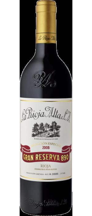 Vino Tinto La Rioja Alta Gran Reserva 890 - 2005