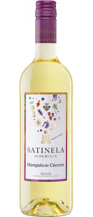 Vino Blanco Semidulce Satinela 2018