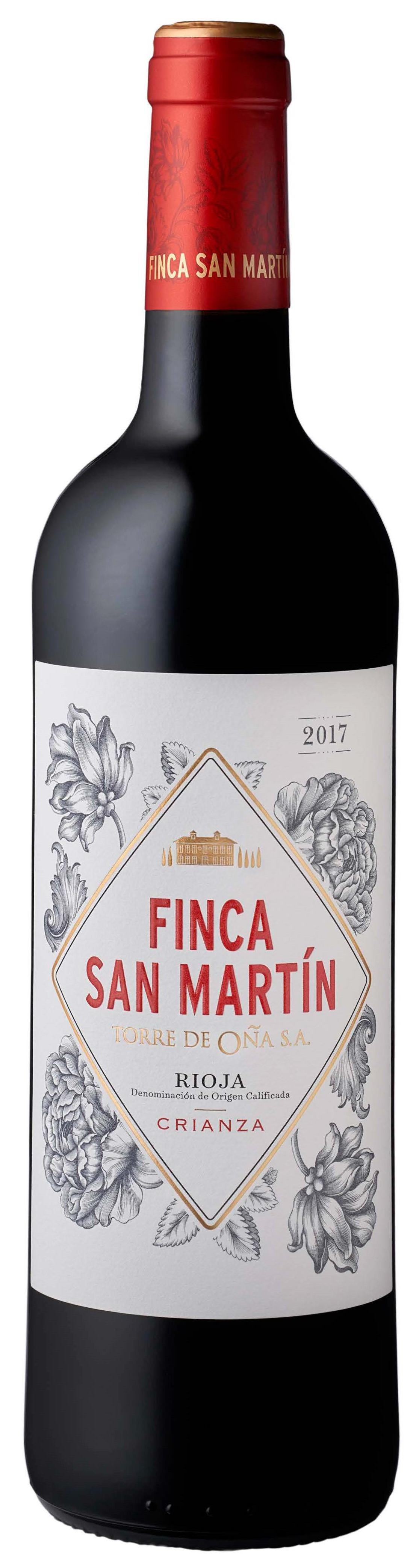 Vino Tinto Finca San Martín Crianza 2017